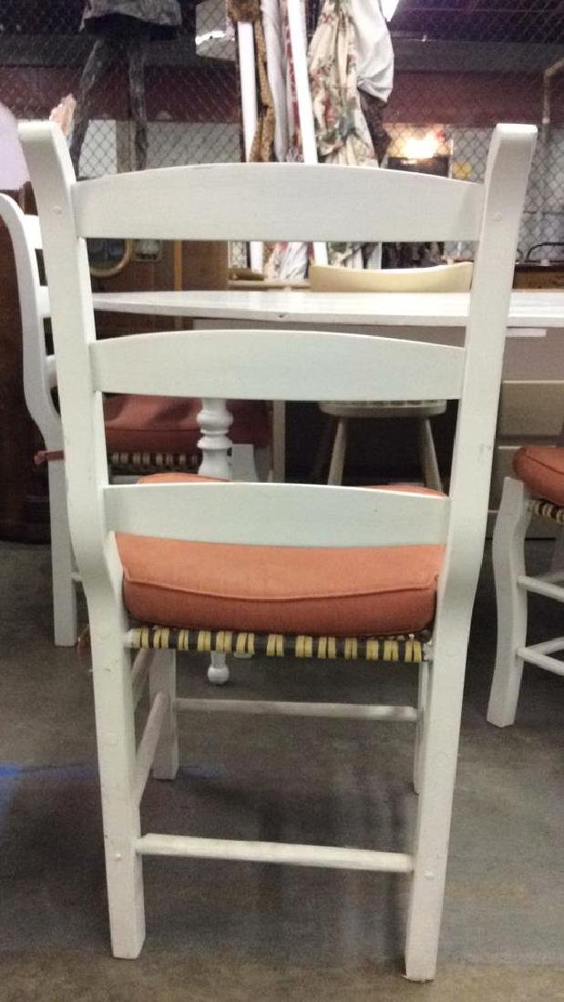 Lot 5 LOCKSON dining table with chairs, Dining Set - 3