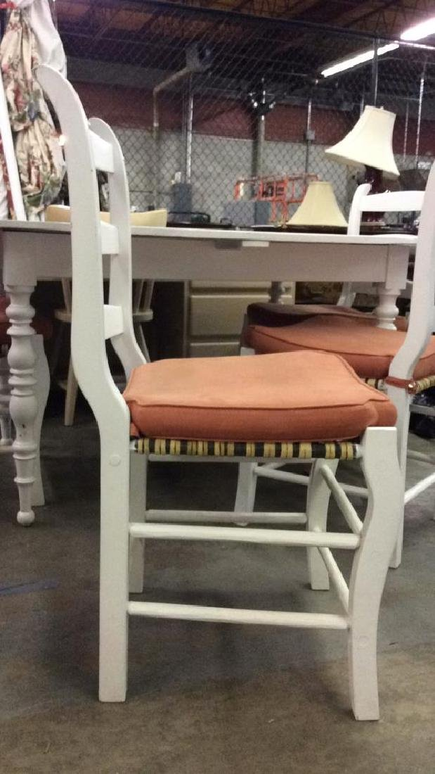 Lot 5 LOCKSON dining table with chairs, Dining Set - 4