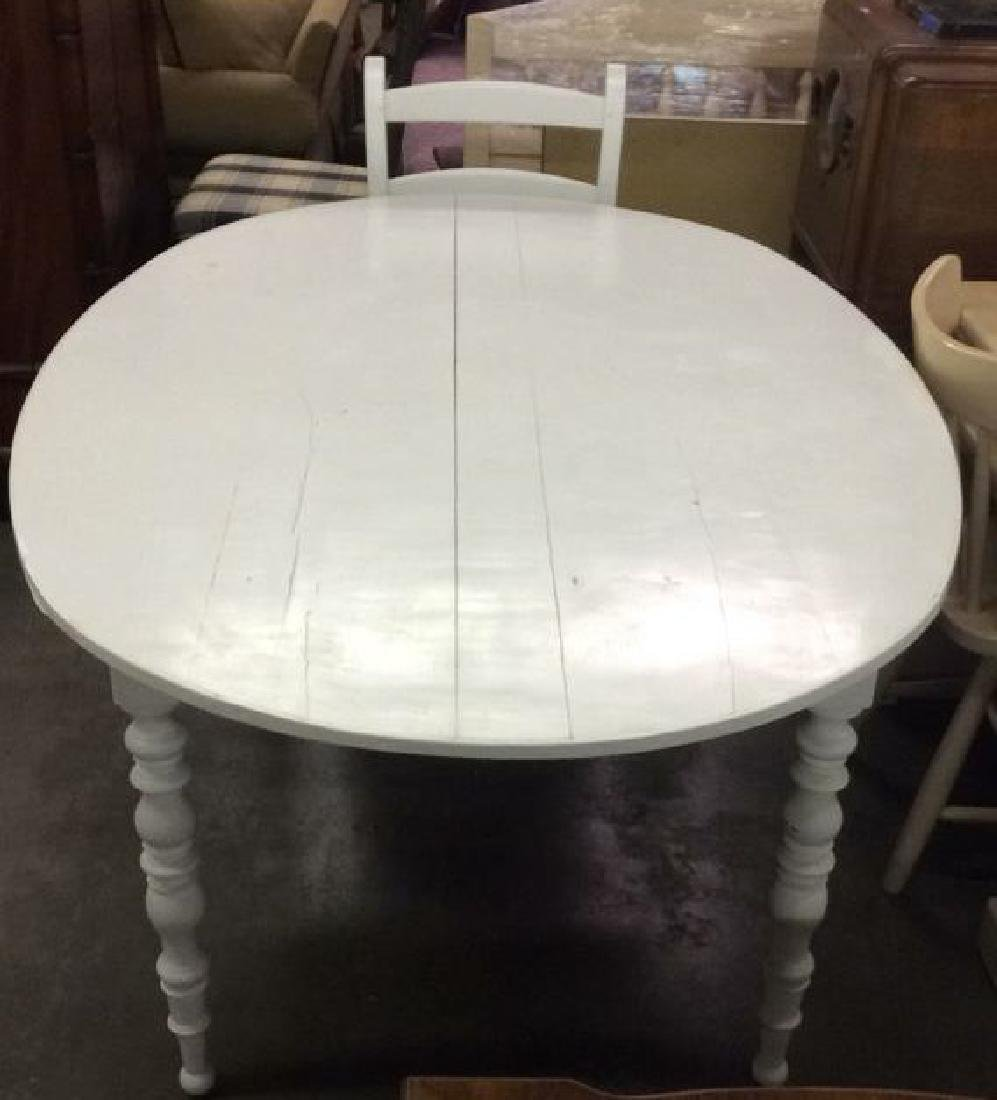 Lot 5 LOCKSON dining table with chairs, Dining Set - 7
