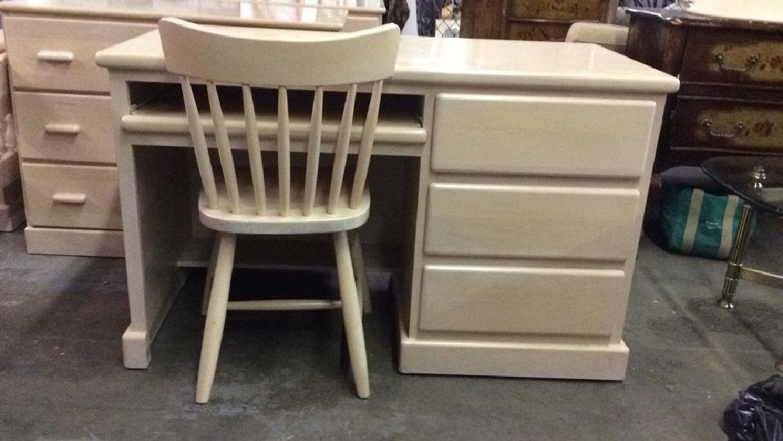 Lot 7 Wooden Bedroom Furniture Set - 2