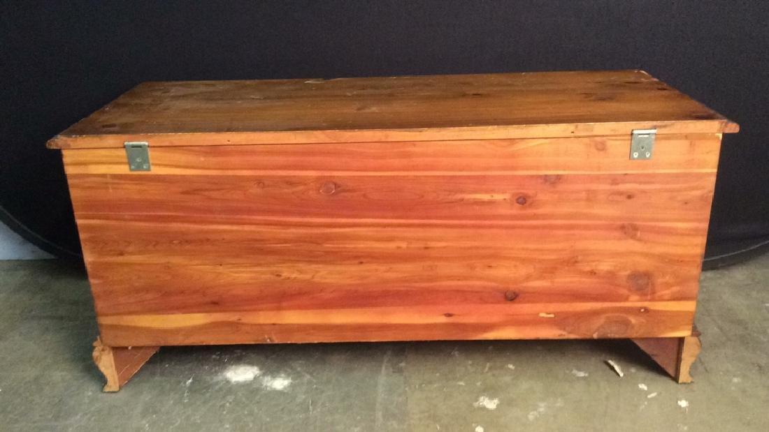LANE ALTAVISTA VIRGINIA Wooden Chest, Cedar Lined - 6