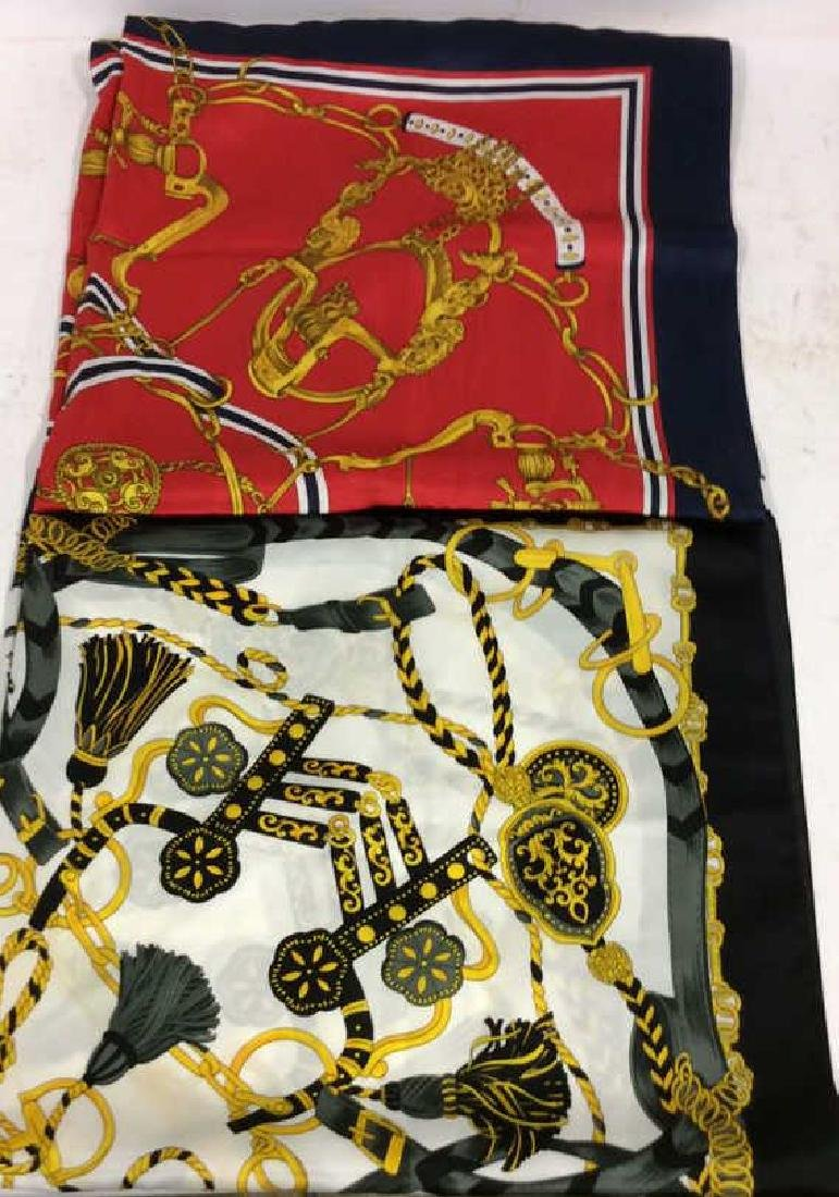 lot 2 Ladies Poss Silk Scarves