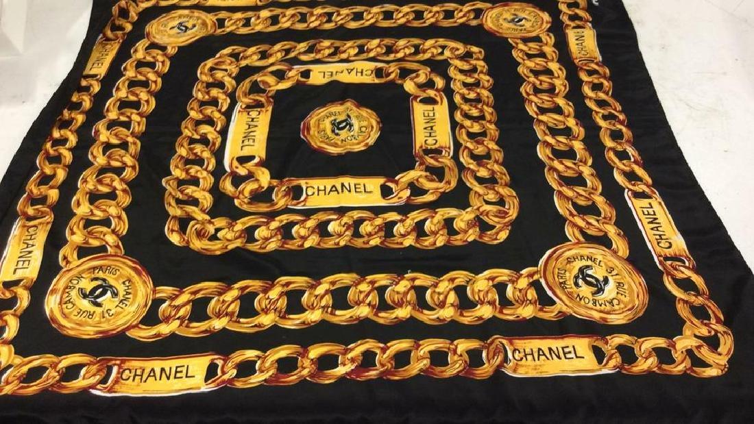 Chanel Silk Ladies Scarf, Paris France