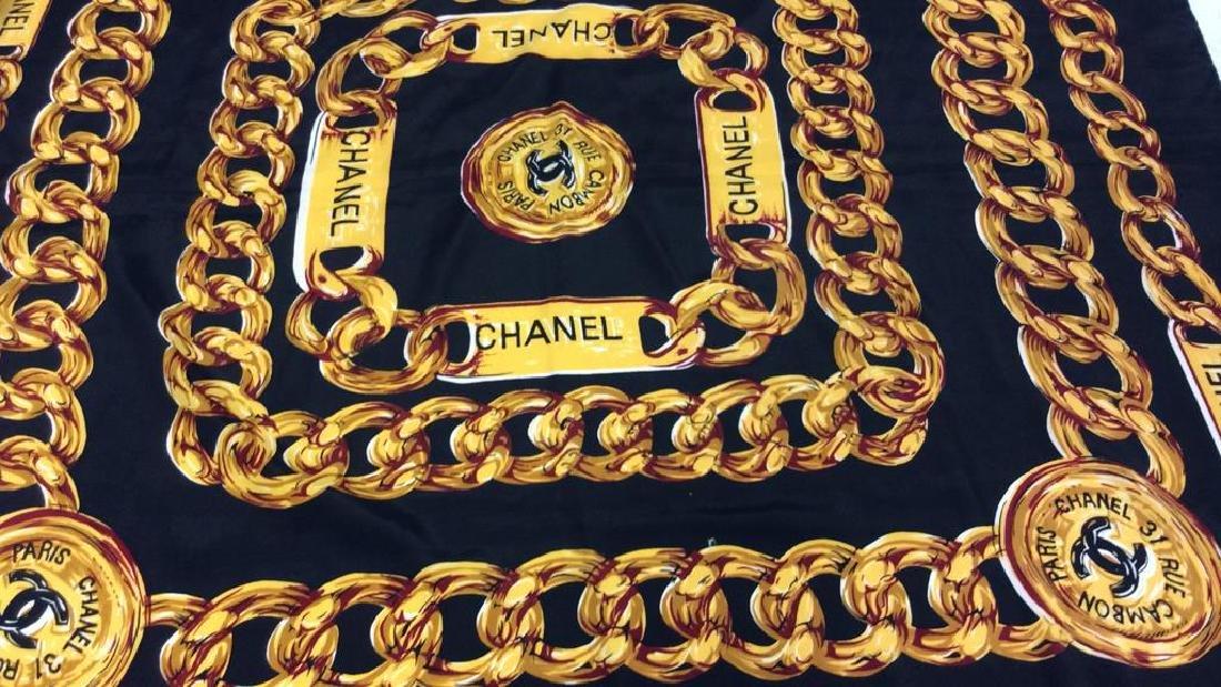 Chanel Silk Ladies Scarf, Paris France - 3
