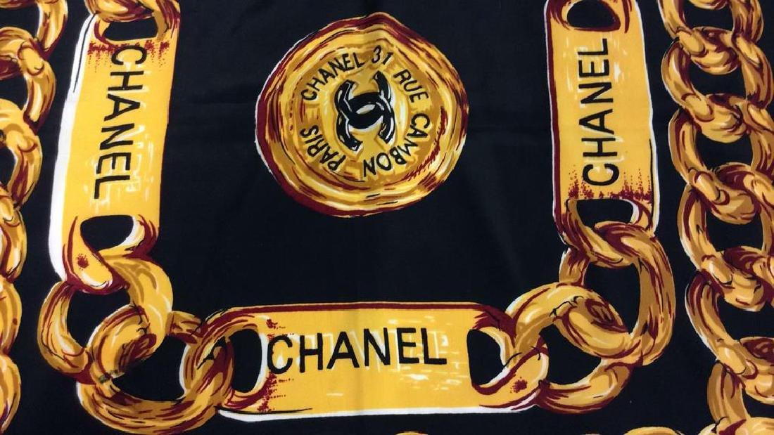 Chanel Silk Ladies Scarf, Paris France - 4