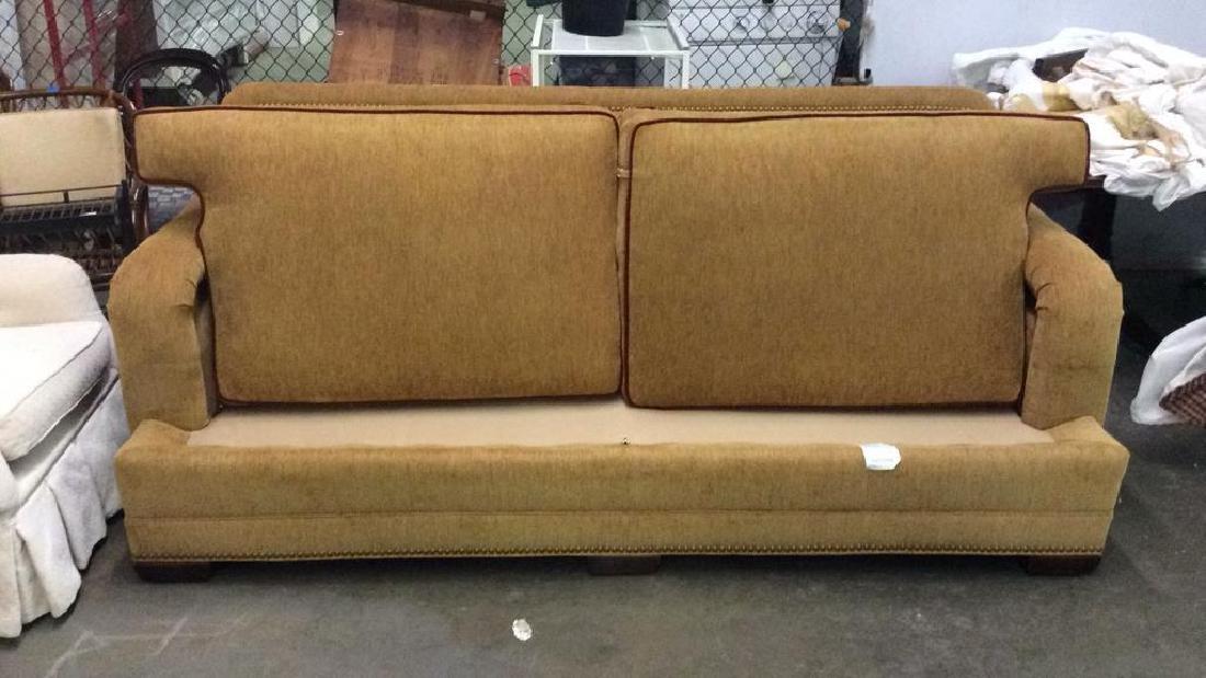STANFORD FURNITURE CO. beige tone couch Sofa - 2