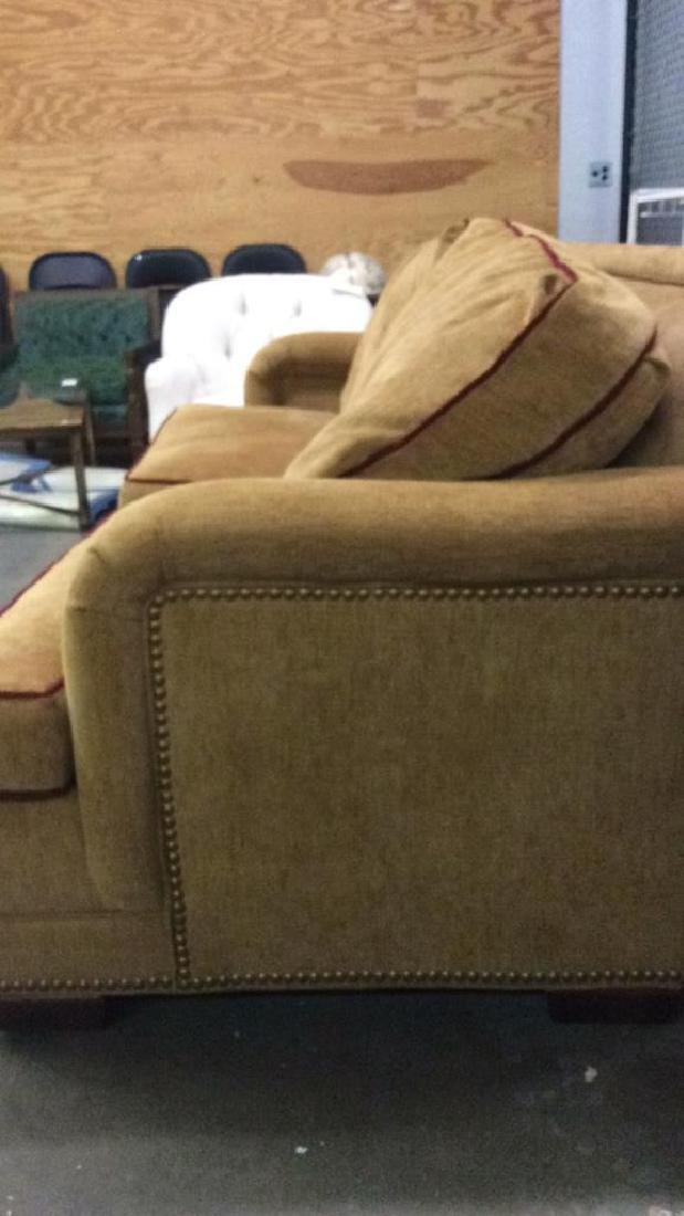 STANFORD FURNITURE CO. beige tone couch Sofa - 7