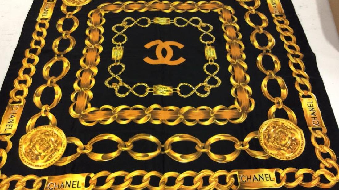 Chanel Ladies Luxury Silk Scarf