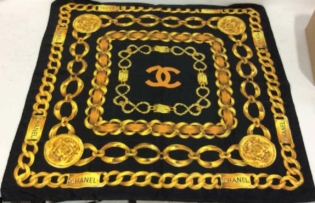Chanel Ladies Luxury Silk Scarf - 3