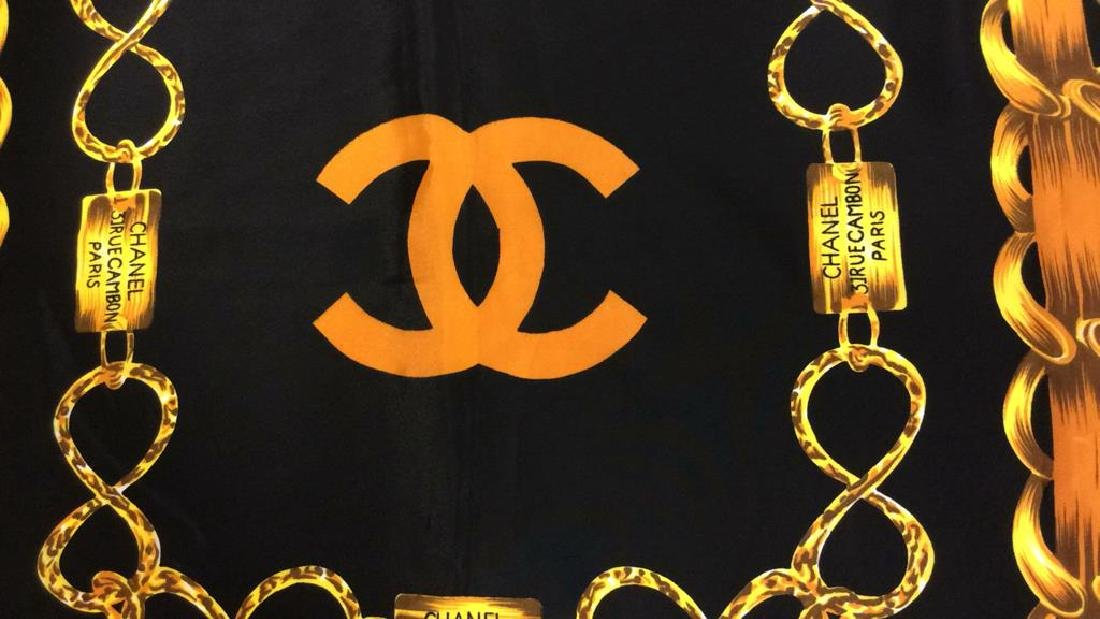 Chanel Ladies Luxury Silk Scarf - 6
