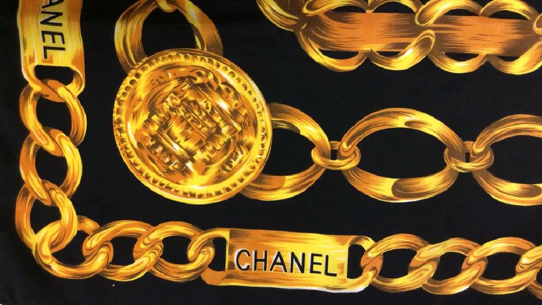 Chanel Ladies Luxury Silk Scarf - 8