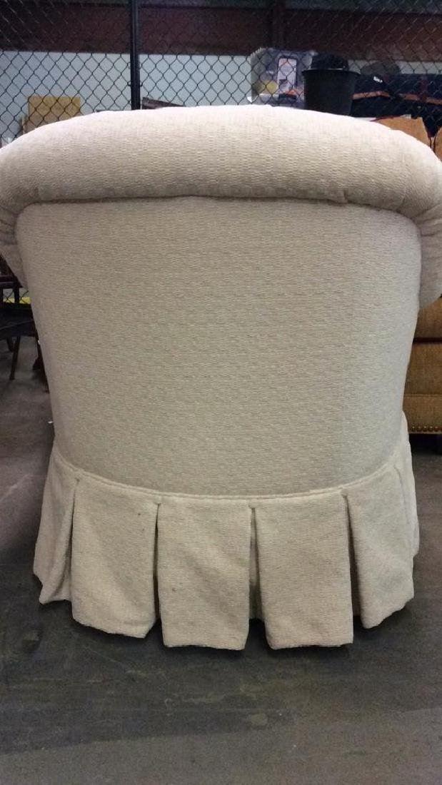 TRS FURNITURE INC. skirted tufted armchair - 6