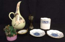 Porcelain Metal Tabletop Accessories
