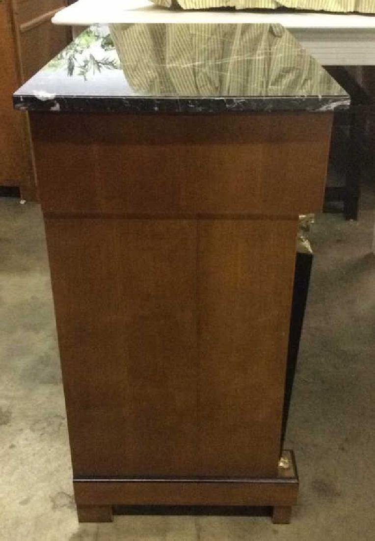 Empire Style vintage marble top Commode dresser - 3