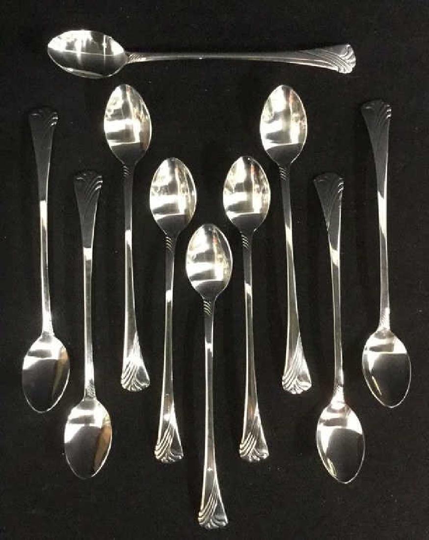 Set Of 10 Lenox Parfait Spoons