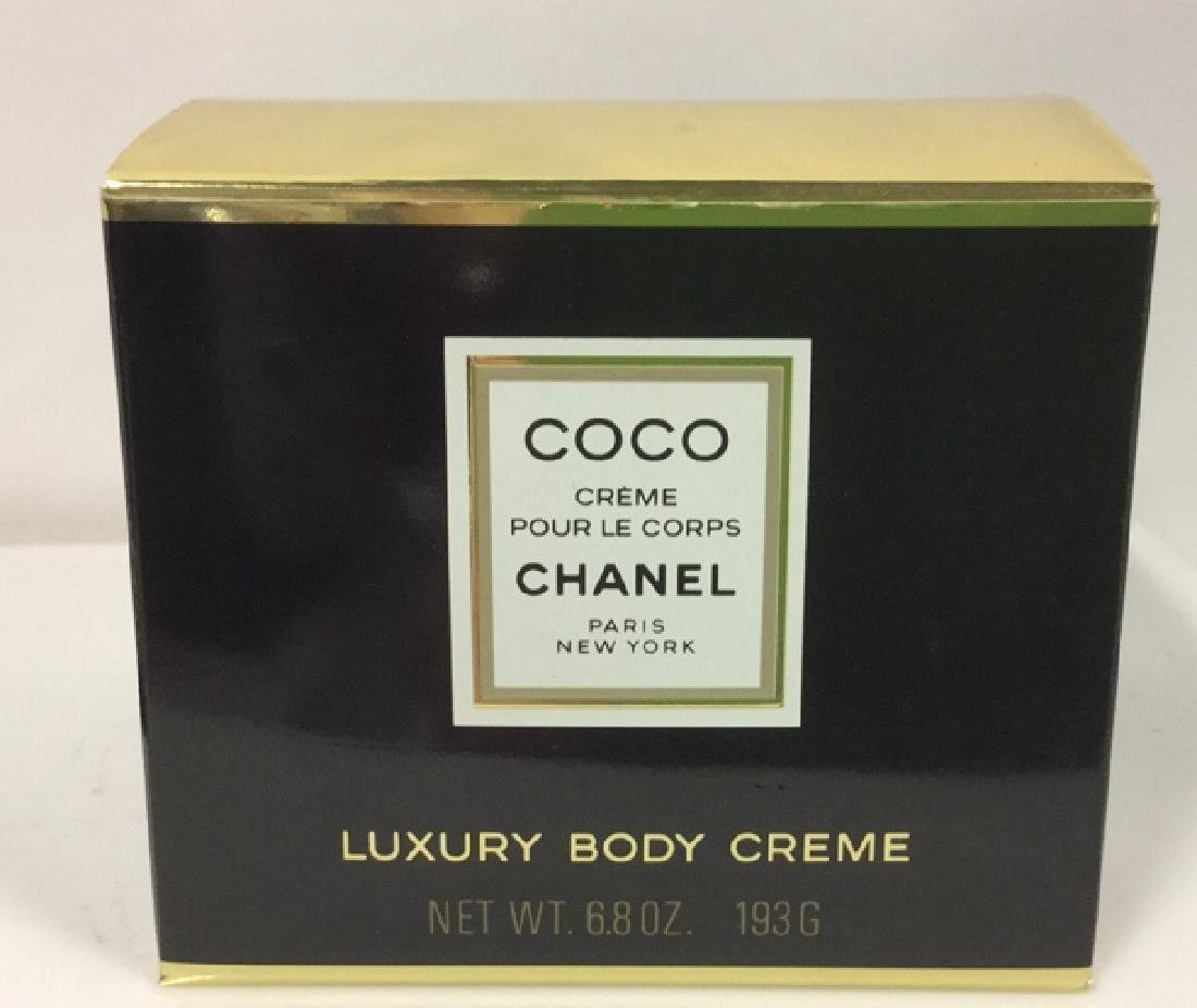 Coco Chanel 6.8 oz Luxury Body Creme Unopened
