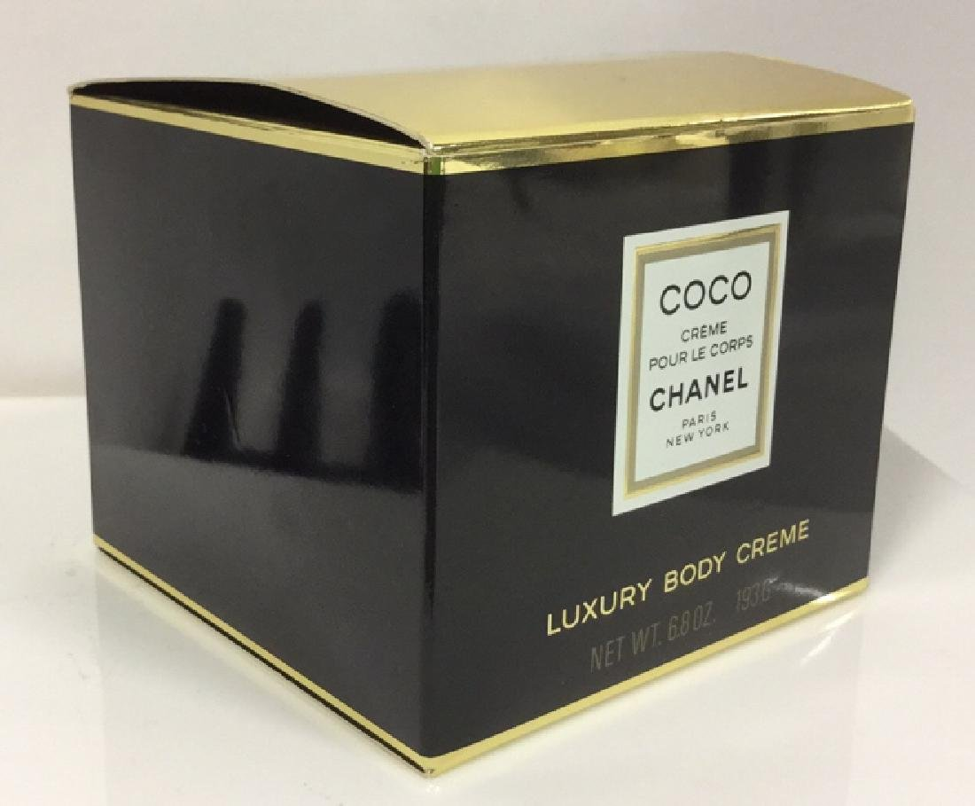 Coco Chanel 6.8 oz Luxury Body Creme Unopened - 2