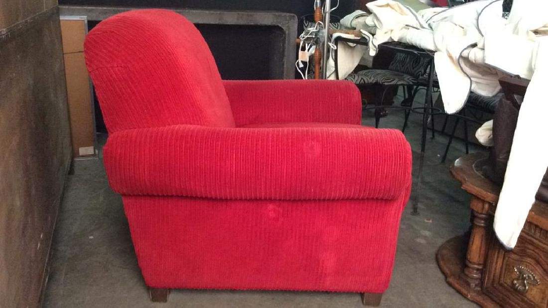Lot 2 NORWALK FURNITURE Armchair & Ottoman, USA - 6
