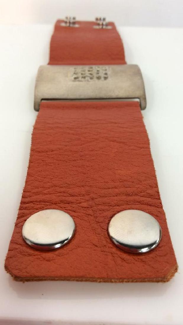 RLK Signed Sterling Silver Cuff Bracelet - 5