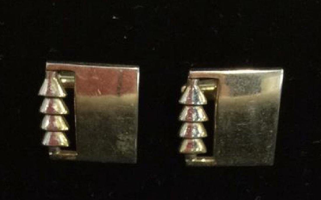 Lot 2 Pairs of Cufflinks Jewelry - 5
