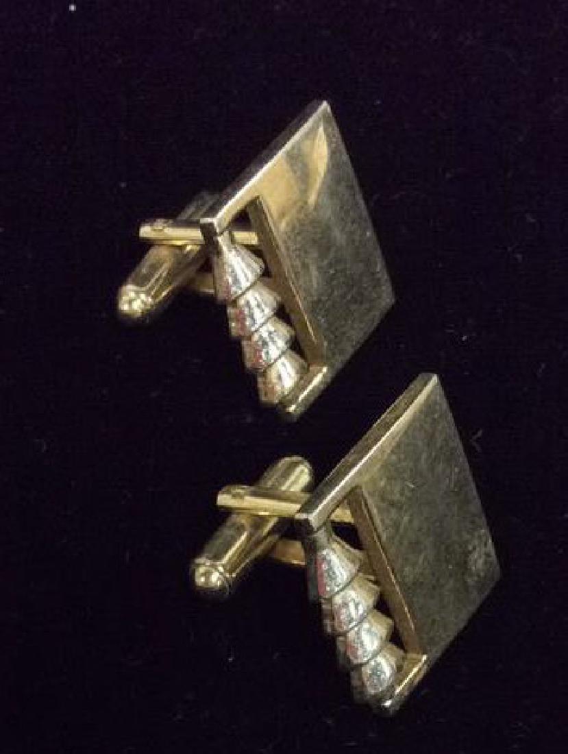 Lot 2 Pairs of Cufflinks Jewelry - 6