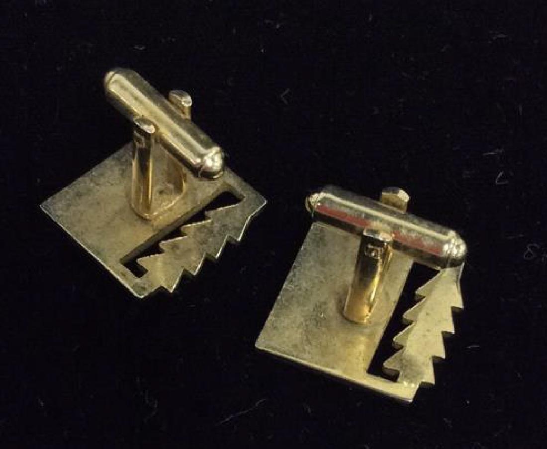Lot 2 Pairs of Cufflinks Jewelry - 7