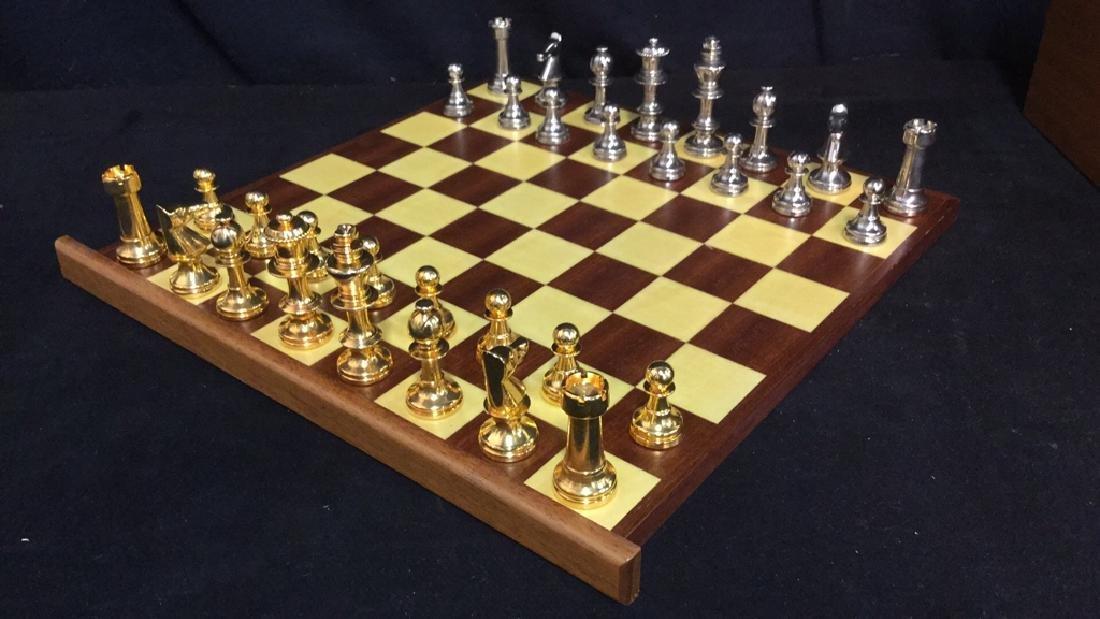 Chess Backgammon Wooden Game Box, Italy - 6