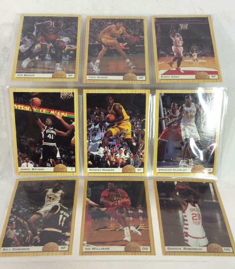9 Collectible Basketball Cards