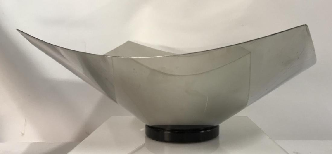 Vintage ALESSI Stainless Modern Design Bowl, Italy
