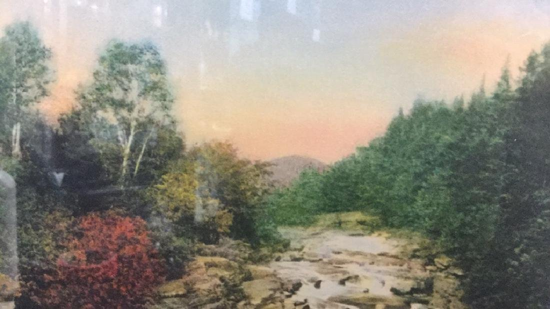 Framed Print Of Wallace Nutting's A Little River