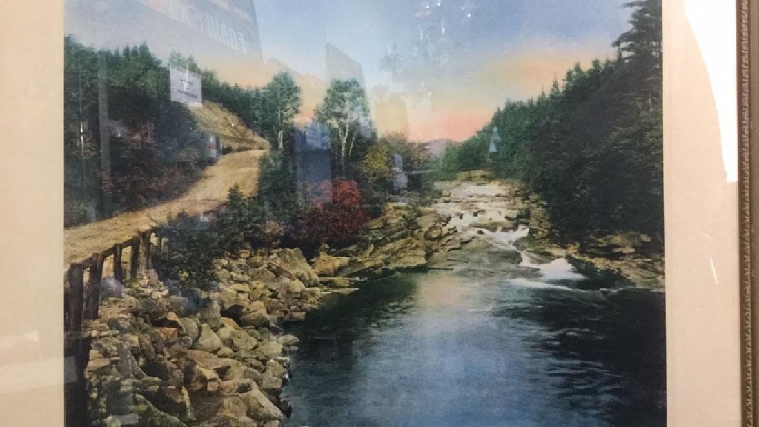 Framed Print Of Wallace Nutting's A Little River - 2