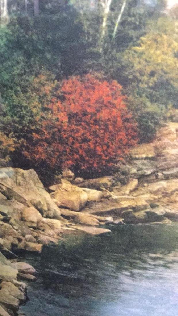 Framed Print Of Wallace Nutting's A Little River - 5