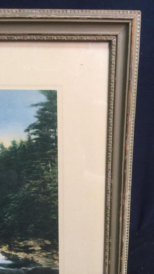 Framed Print Of Wallace Nutting's A Little River - 6