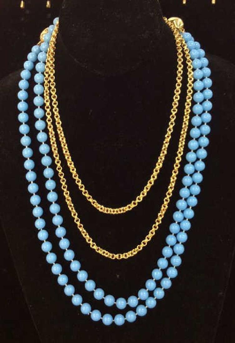 Multi Strand Women's Costume Jewelry Necklace