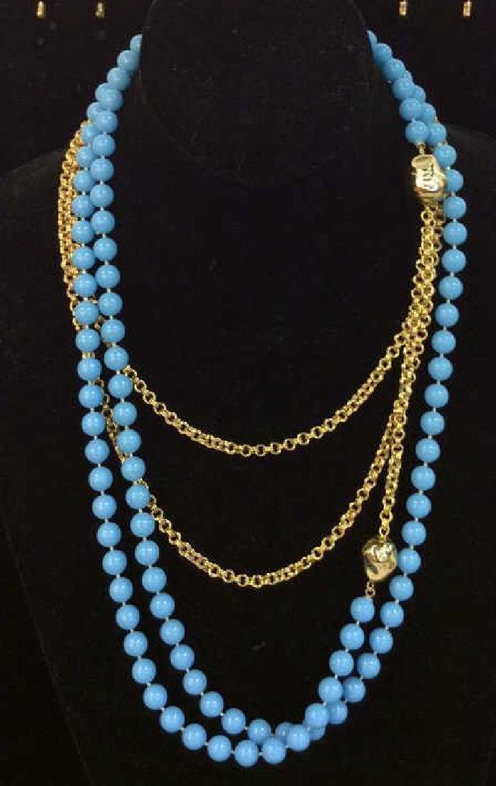 Multi Strand Women's Costume Jewelry Necklace - 3