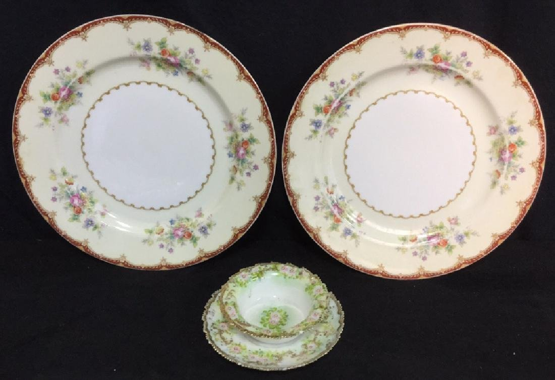 Lot 4 Royal Embassy And Hand Painted Dishes