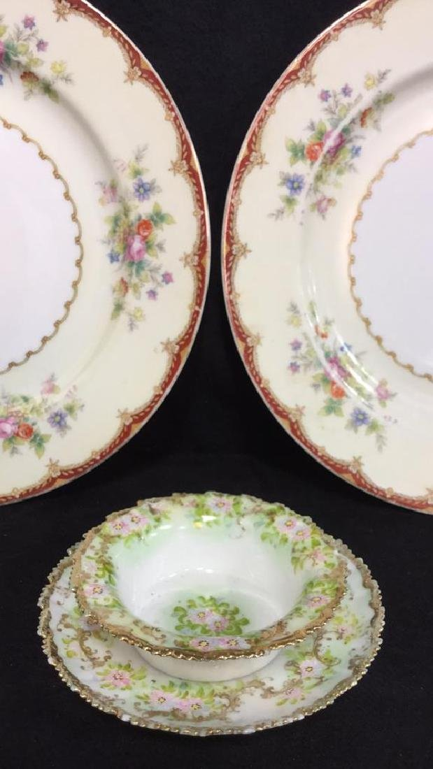 Lot 4 Royal Embassy And Hand Painted Dishes - 2