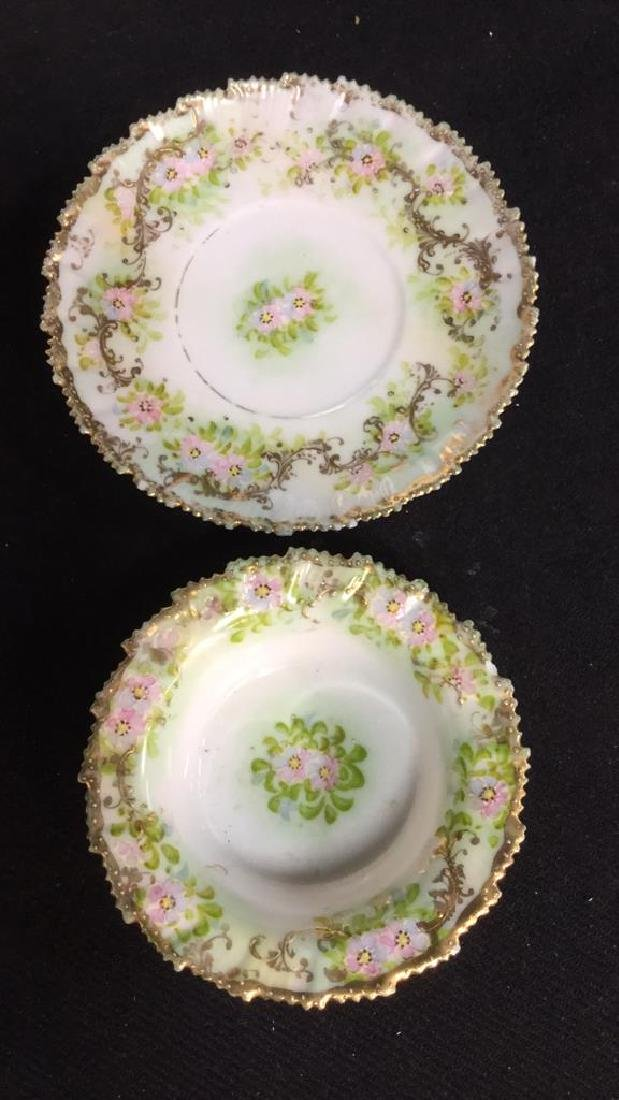 Lot 4 Royal Embassy And Hand Painted Dishes - 3