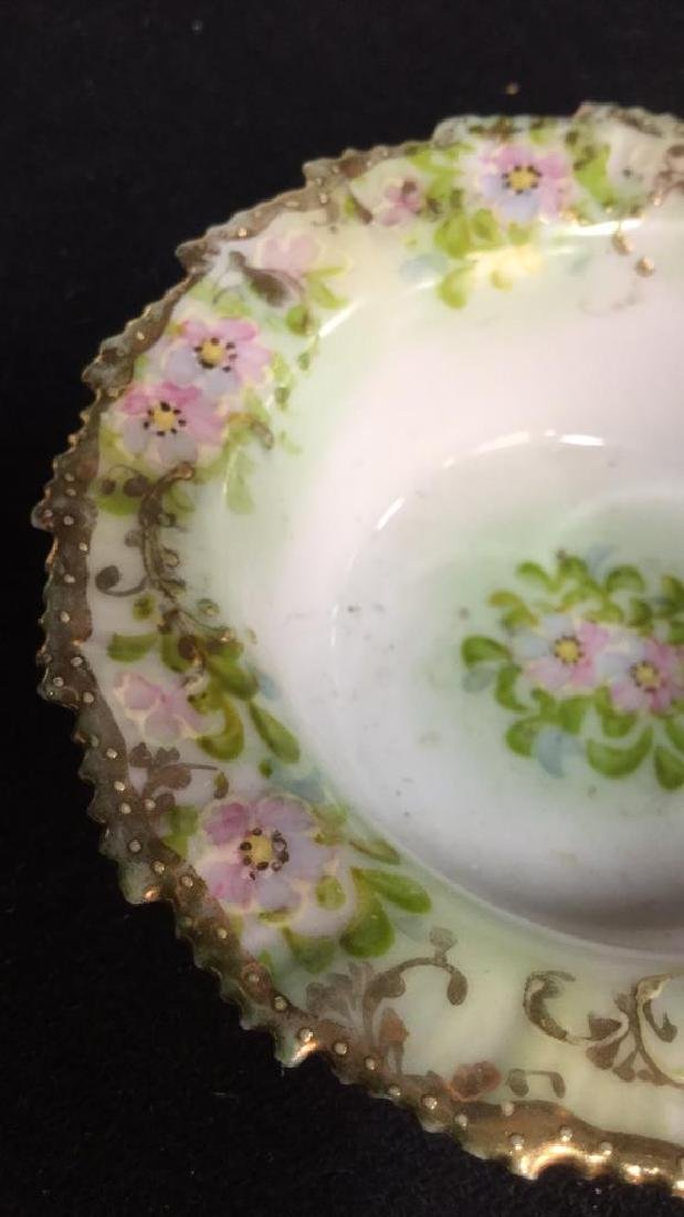 Lot 4 Royal Embassy And Hand Painted Dishes - 4