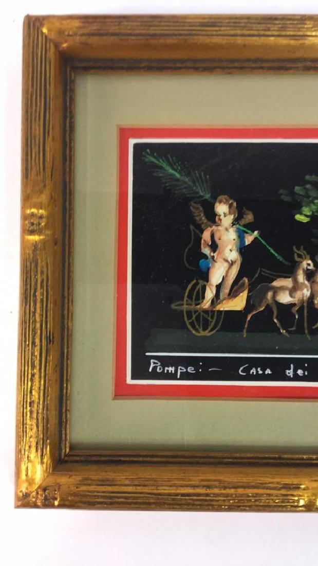 2 Framed Italian Paintings, A. CASO - 4
