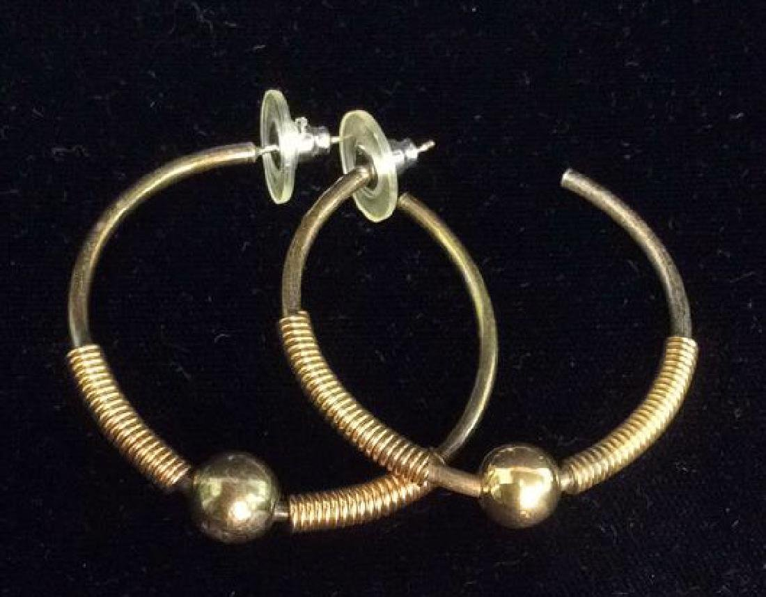 Lot 5 Gold Toned Costume Jewelry - 5