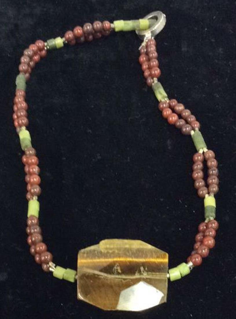 Lot 4 Beaded Necklaces Estate Costume Jewelry - 3