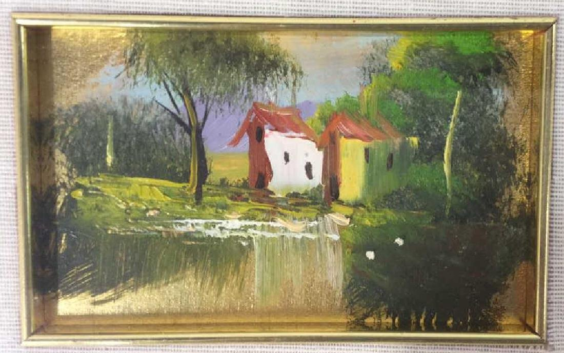 G. SARNELLI Framed Oil Painting, Italy - 7
