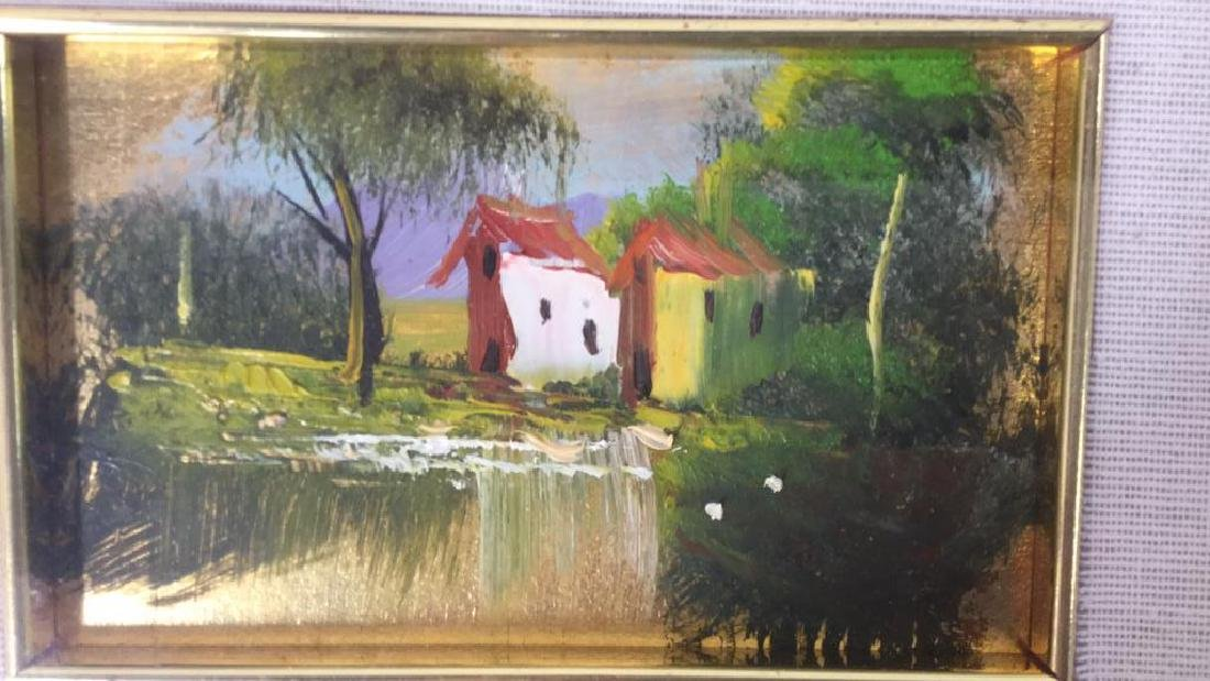 G. SARNELLI Framed Oil Painting, Italy - 8
