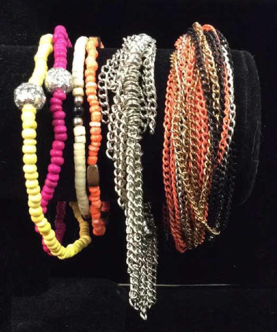 Lot 6 Assorted Women's Bracelets Jewelry