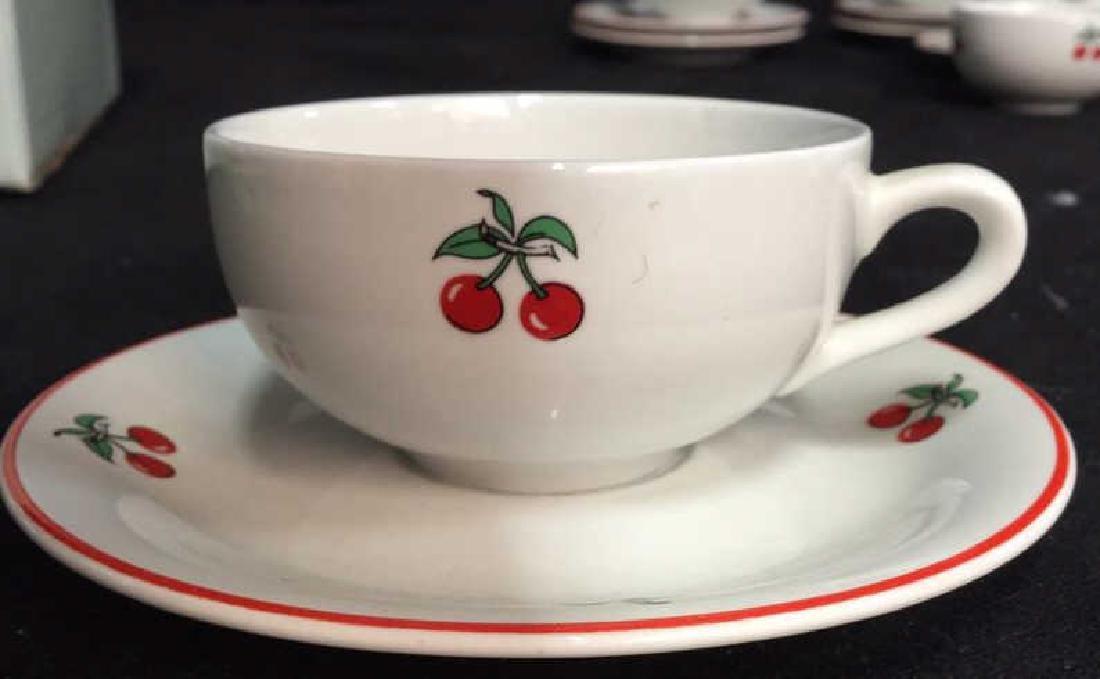Richard Ginori Italian Cup Saucer Set, Italy