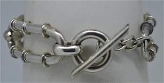 Ladies 725 Silver Plated Bracelet