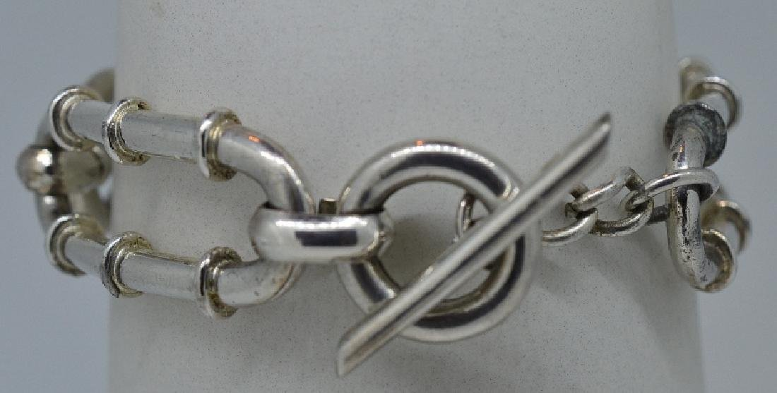 "Ladies 7.25"" Silver Plated Bracelet"