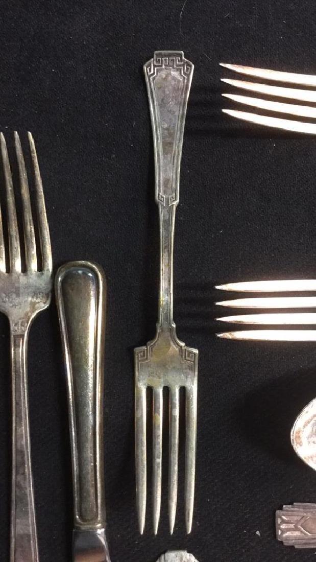 Lot 46 Silver Plate W M Rogers, Carlton Flatware - 10