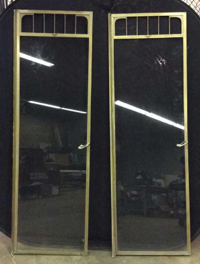 G.M KETCHAM MFG CORP Vintage Brass Shower Doors